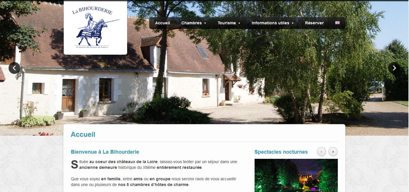 labihourderie.com – Gite de prestige